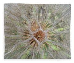 Heart Of The Dandelion Fleece Blanket