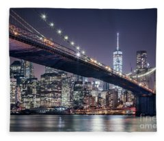 Heart Of The Night Fleece Blanket