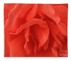 Yoni Rose Fleece Blanket