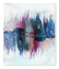 Heartbeat Drama Fleece Blanket