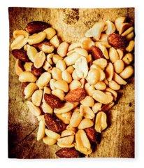 Heath Nut Fleece Blanket