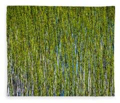 Heather Lake Grass Fleece Blanket