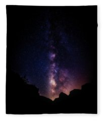 Fleece Blanket featuring the photograph Heaven Come Down by Rick Furmanek