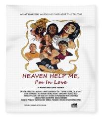 Heaven Help Me, I'm In Love Poster C Fleece Blanket