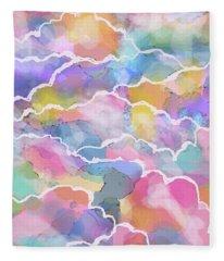 Heavenly Clouds Fleece Blanket