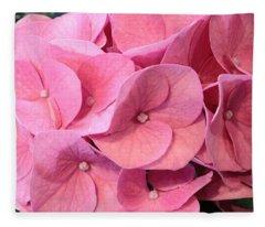 Heavenly Hydrangea Fleece Blanket