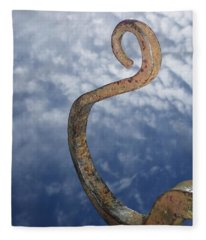 Heavenly Sky Hook Fleece Blanket