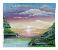 Heavenly View Fleece Blanket