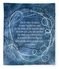 Heavens Dance Fleece Blanket