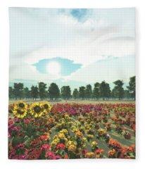 Heavens Eye Fleece Blanket