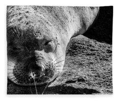 Heavy Sleeper Fleece Blanket