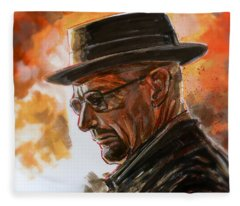 Heisenberg Fleece Blanket