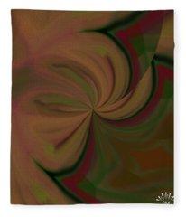 Helix Art  Design  Fleece Blanket