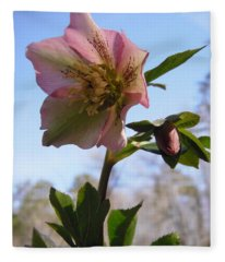 Hellebore Morning Fleece Blanket