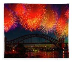 Hellgate Independence Celebration Fleece Blanket