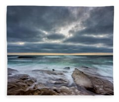 Hellishly Heavenly Fleece Blanket