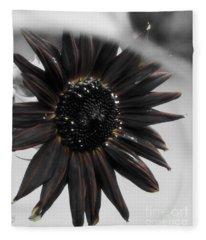 Hells Sunflower Fleece Blanket