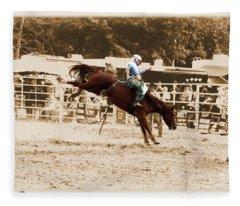 Helluva Rodeo-the Ride 4 Fleece Blanket