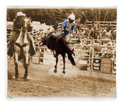 Helluva Rodeo-the Ride 5 Fleece Blanket