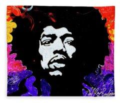 Hendrix Mania Fleece Blanket