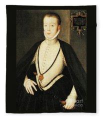 Henry Stewart Lord Darnley Married Mary Queen Of Scots 1565 Fleece Blanket
