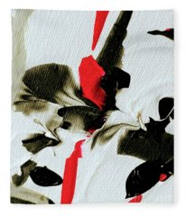 Her Feminine Essence Fleece Blanket