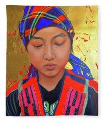 Her Story Fleece Blanket