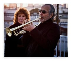 Herb Alpert Fleece Blanket