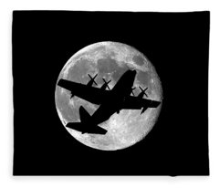 Hercules Moon .png Fleece Blanket