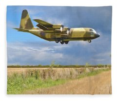 Fleece Blanket featuring the photograph Hercules Xv222 by Paul Gulliver