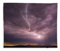 Here's A Shocker Fleece Blanket
