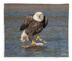 Here's Staring At You Fleece Blanket
