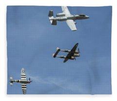 Heritage Flight Break Fleece Blanket