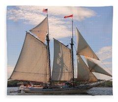 Heritage Full Sail Fleece Blanket
