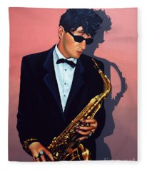 Herman Brood Fleece Blanket
