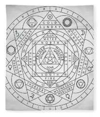 Hermetic Principles Fleece Blanket