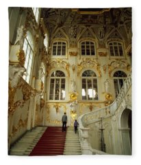 Hermitage Staircase Fleece Blanket
