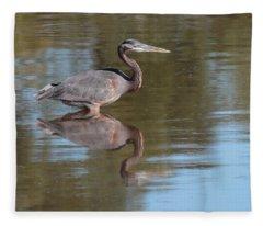 Heron Fleece Blanket