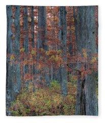 Heron Pond Twilight Fleece Blanket