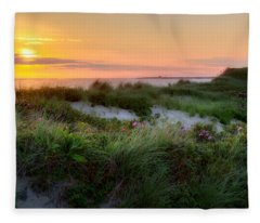 Herring Cove Beach Fleece Blanket