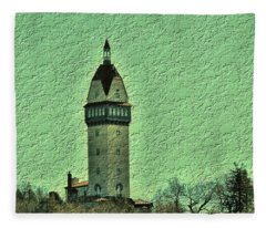 Heublein Tower Fleece Blanket