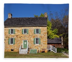 Hezekiah Alexander Homesite Fleece Blanket