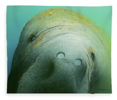 Hi There Fleece Blanket