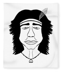 Hiawatha Fleece Blanket