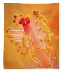 Hibiscus-1 Fleece Blanket