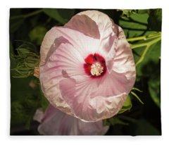 Hibiscus 2017-2 Fleece Blanket