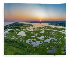 Hidden Beauty Pano Fleece Blanket