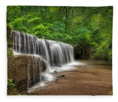 Hidden Falls  Fleece Blanket