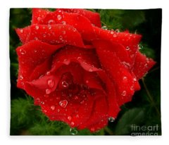 Hidden Hearts Fleece Blanket