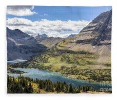 Hidden Lake Overlook Fleece Blanket